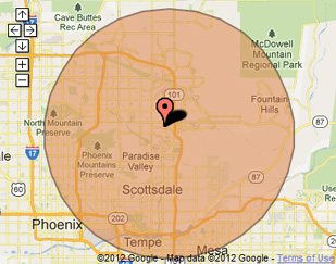 Scottsdale Computer Repair Service on-site Virus Removal Service Area